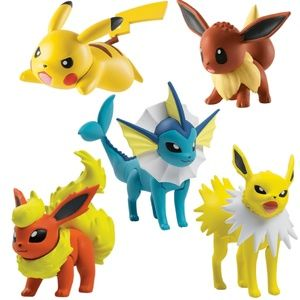 Pokemon Posed For Battle 5 Multi Figure Pack